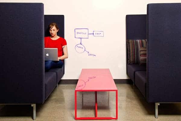קפסולות ישיבה במשרד