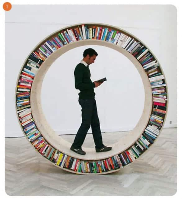 עיצוב משרדים ספרייה