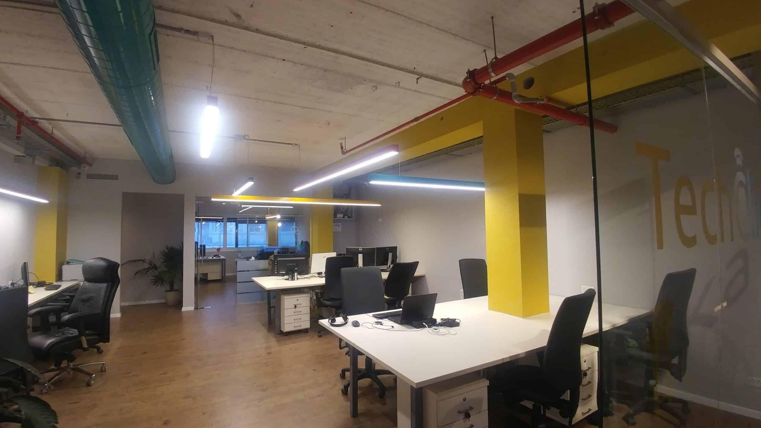 משרד מעוצב ריק
