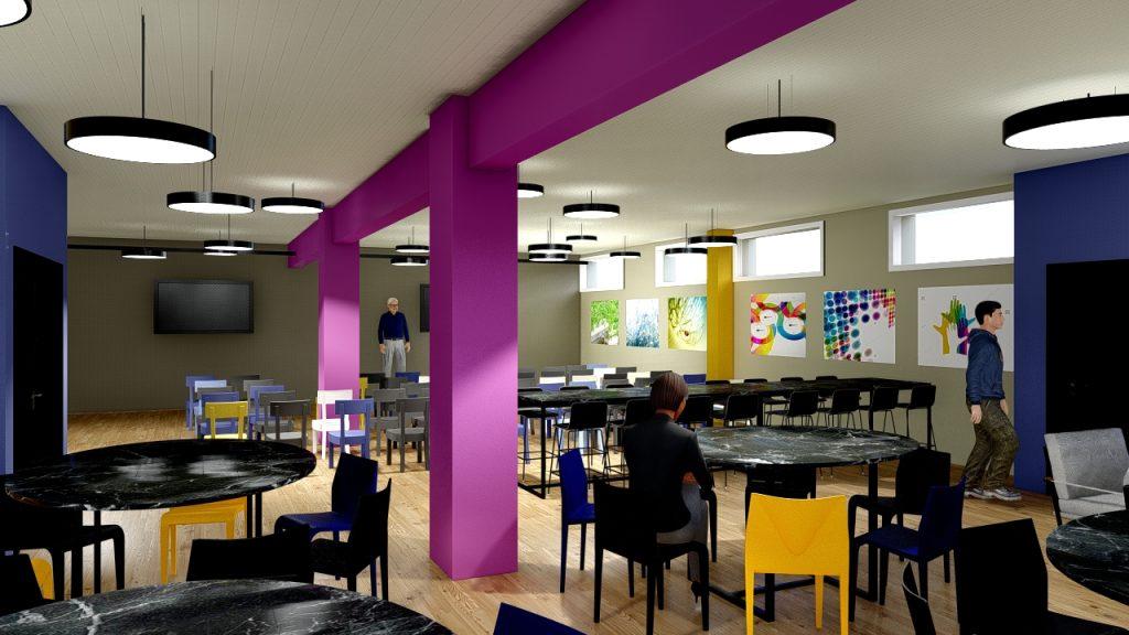 Basement room design