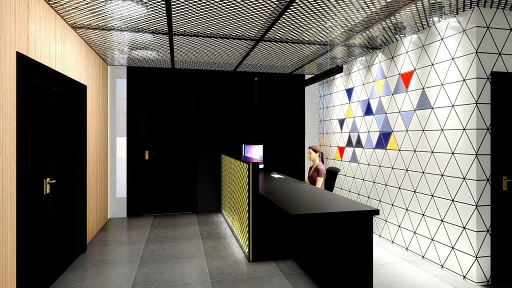 Agic reception room design
