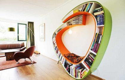 ספריה – עיצוב משרד מודרני