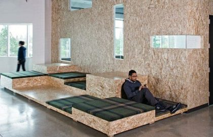 עיצוב משרדי AOL החדשים – אווירה של סטרט-אפ בחברה גדולה