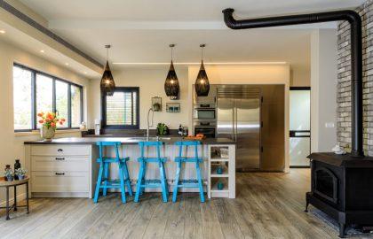 שיפוץ ושינוי פרוגרמה בבית מגורים בהוד השרון