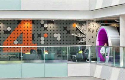 עיצוב משרדי BBC north