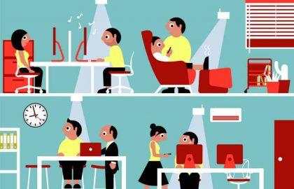 מחקר חדש קובע – לעיצוב מקום העבודה יש השפעה על אושרם של העובדים והמוטיבציה שלהם – שולחן הפינג פונג אאוט