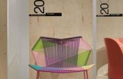 60 שנות עיצוב באולם התצוגה הנייד של חברת Moroso
