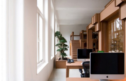 רעיון לעיצוב משרדים בתקציב נמוך – חברת Nothing
